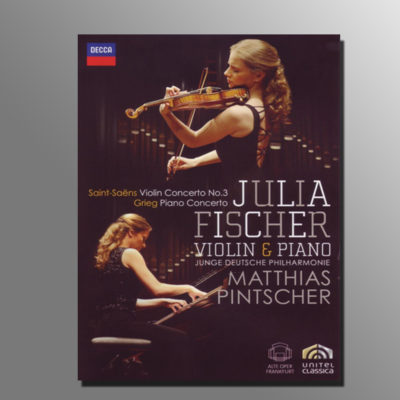 BCGE.shop : DVD Julia Fischer